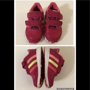 Adidas Snice CF 4 Pink Sneakers Toddlers size 6